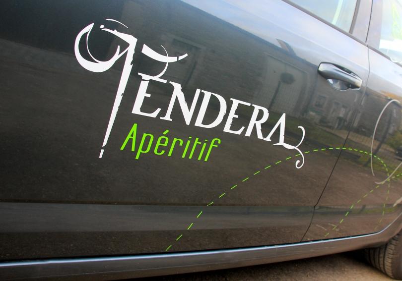 Les coulisses du lettrage Tendera